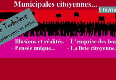 Municipales citoyennes