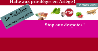 Halte aux privilèges en Ariège !